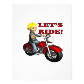 Lets Ride 7 Personalized Flyer