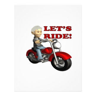 Lets Ride 8 Personalized Flyer