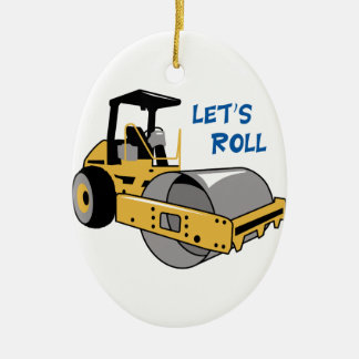 Lets Roll Christmas Ornament