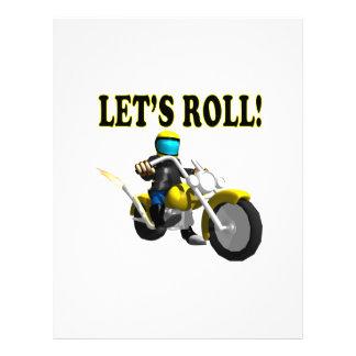 Lets Roll Custom Flyer