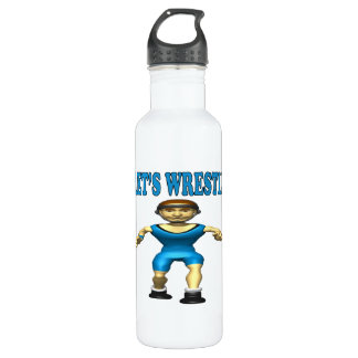 Lets Wrestle 4 710 Ml Water Bottle