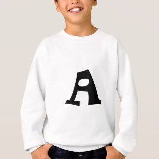 Letter A_large Sweatshirt
