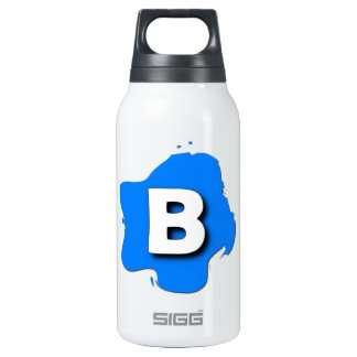 Letter B Insulated Water Bottle
