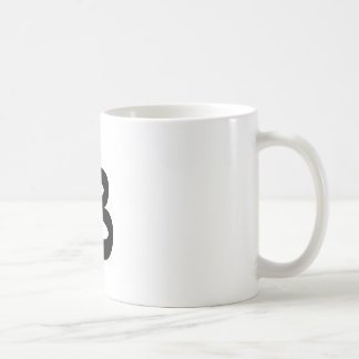 Letter B_large Coffee Mug