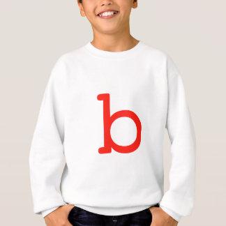 Letter b sweatshirt