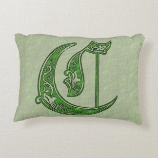 Letter C Decorative Cushion