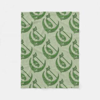 Letter C Fleece Blanket