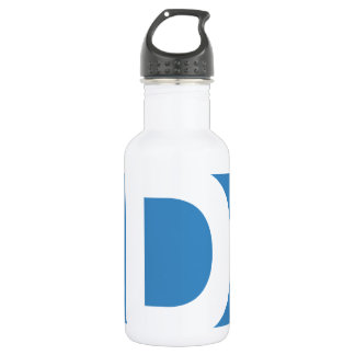 Letter D - emoji Twitter 532 Ml Water Bottle
