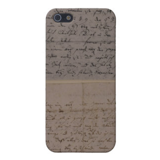 Letter from Leopold Mozart Cover For iPhone 5/5S