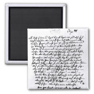 Letter from Mozart to his Father, 5th April Magnet