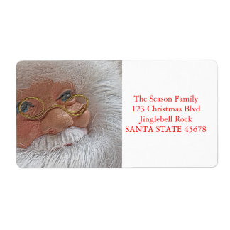 Letter from Santa Christmas Shipping Label