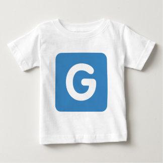Letter G - emoji Twitter Baby T-Shirt