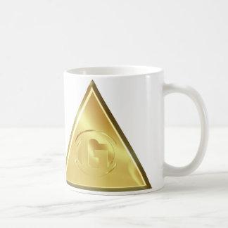 Letter G White Background Coffee Mug