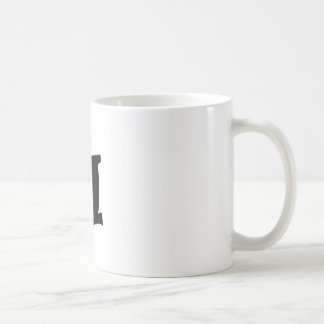 Letter H_large Coffee Mug