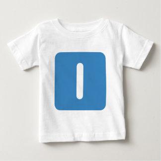 Letter I emoji Twitter Baby T-Shirt