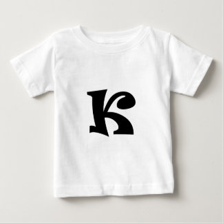 Letter K_large Baby T-Shirt