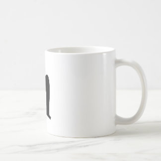 Letter N_large Coffee Mug