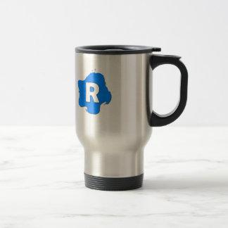 Letter R Travel Mug