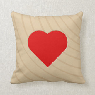 Letter Tile Pillow: Wood Heart/Asterisk (17 of 17) Cushions
