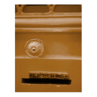 Letterbox New Home/New Address Postcard