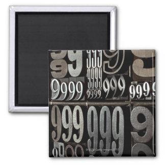 Letterpress 3 magnet