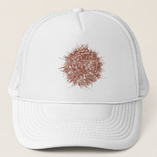 Letterpress Chilean Sea Urchin (Loxechinus albus) Trucker Hat