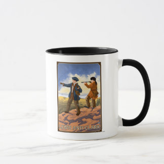 Lewis and Clark Exploring the West Mug
