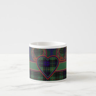 Lewis clan Plaid Scottish kilt tartan Espresso Cup