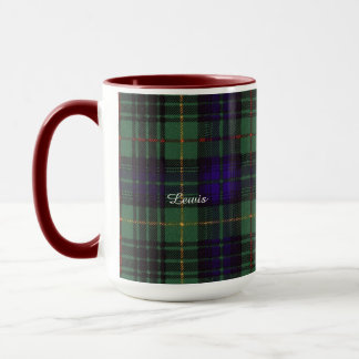 Lewis clan Plaid Scottish kilt tartan Mug