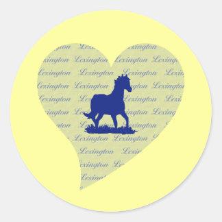 Lexington Horse Stickers for Horse Fans