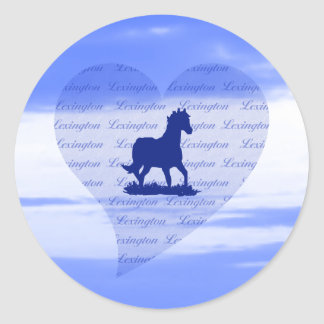 Lexington KY Horse Stickers for Horseracing Fans