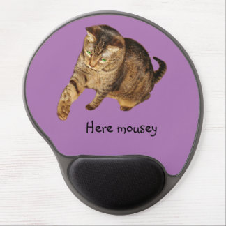 """Lexi's """"Here mousey"""" mouse pad Gel Mouse Pad"""