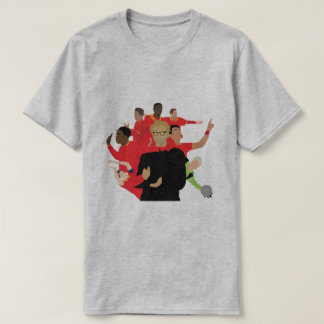 LFC Team Mash-up T-shirts