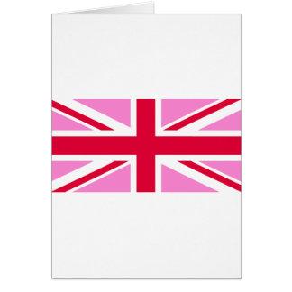 LGBT Gay Pride Rainbow Flag of the United Kingdom Card