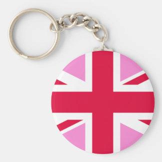 LGBT Gay Pride Rainbow Flag of the United Kingdom Key Ring