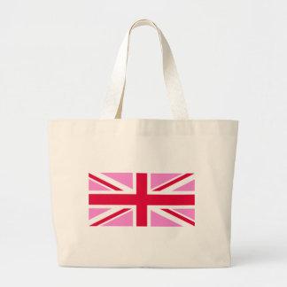 LGBT Gay Pride Rainbow Flag of the United Kingdom Large Tote Bag