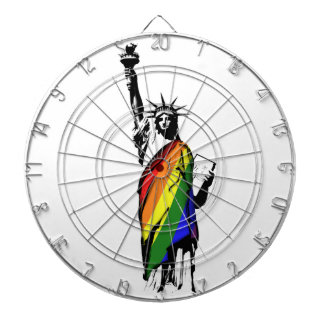 LGBT New York Dartboard