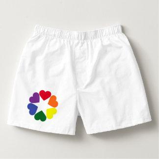 LGBT pride hearts Boxers