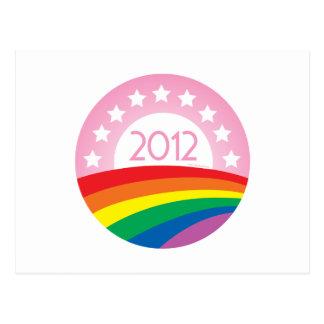 LGBTQ for Obama Postcard