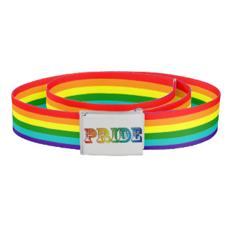 LGBTQ+ Pride Belt