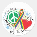 LGBTQIA PLE STICKER