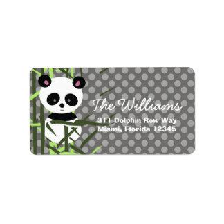LGC | Peek A Boo Panda Label