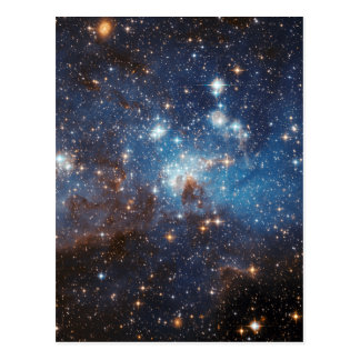 LH 95 in the Large Magellanic Cloud Postcard