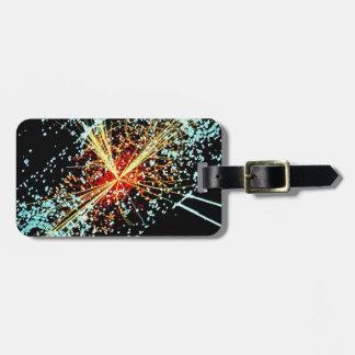 LHC Collision Luggage Tag
