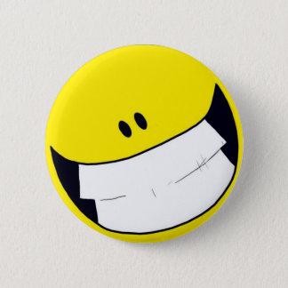 Li.F.E. Smiley 6 Cm Round Badge
