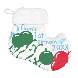 Liam's 1st Birthday 20XX, Customize It! Elf Christmas Stocking
