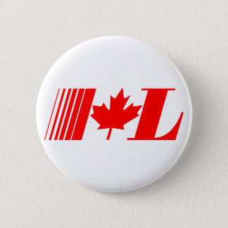 Liberal Party Old Logo 6 Cm Round Badge