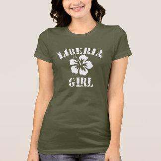 Liberia Pink Girl T-Shirt