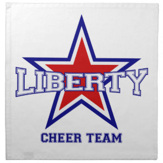 Liberty Cheerleader Napkins