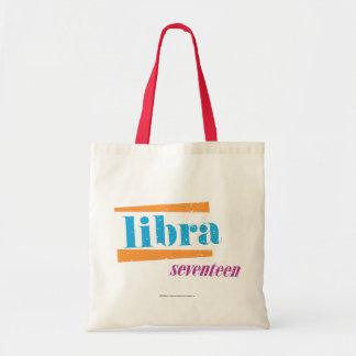 Libra Aqua Tote Bag